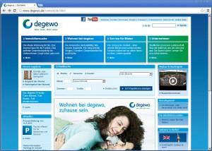 degewo Homepage