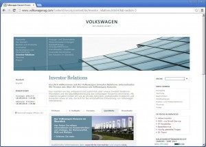 Volkswagen AG - Corporate Site